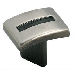 Evolutions 1-1/4 Inch Diameter Pewter Cabinet Knob