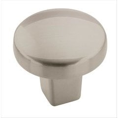 Forgings 1-1/8 Inch Diameter Satin Nickel Cabinet Knob