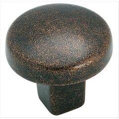 Forgings 1-1/4 Inch Diameter Rustic Bronze Cabinet Knob