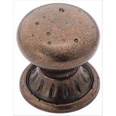 Ambrosia 1-1/4 Inch Diameter Rustic Bronze Cabinet Knob