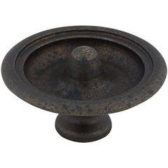 Traditional 1-17/32 Inch Diameter Knobs with Spotted Bronze Finish <small>(#BP47039138)</small>