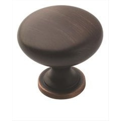 Allison Value Hardware 1-1/4 Inch Diameter Oil Rubbed Bronze Cabinet Knob