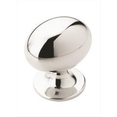 Allison Value Hardware 1-1/4 Inch Diameter Polished Chrome Cabinet Knob <small>(#BP5301826)</small>