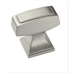Mulholland 1-1/4 Inch Length Satin Chrome Cabinet Knob <small>(#BP53029G10)</small>