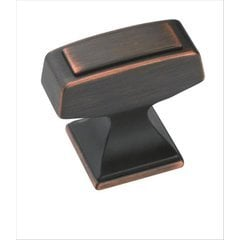 Mulholland 1-1/4 Inch Diameter Oil Rubbed Bronze Cabinet Knob