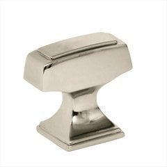 Mulholland 1-1/4 Inch Diameter Polished Nickel Cabinet Knob