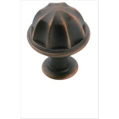 Eydon 1 Inch Diameter Oil Rubbed Bronze Cabinet Knob
