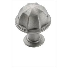 Eydon 1 Inch Diameter Weathered Nickel Cabinet Knob