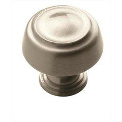 Kane 1-1/4 Inch Diameter Satin Nickel Cabinet Knob <small>(#BP53700G10)</small>