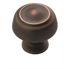 Kane 1-1/4 Inch Diameter Oil Rubbed Bronze Cabinet Knob