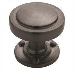 Rochdale 1-1/4 Inch Diameter Graphite Cabinet Knob