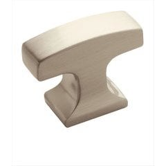 Westerly 1-5/16 Inch Diameter Satin Nickel Cabinet Knob