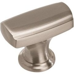 Highland Ridge 1-3/8 Inch Diameter Satin Nickel Cabinet Knob