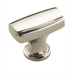 Highland Ridge 1-3/8 Inch Diameter Polished Nickel Cabinet Knob