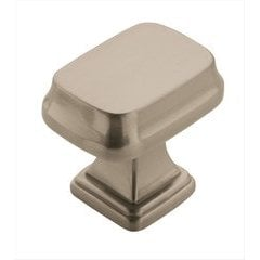 Revitalize 1-1/4 Inch Length Satin Nickel Cabinet Knob