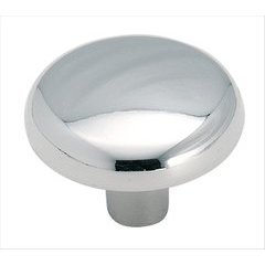 Allison Value Hardware 1-1/4 Inch Diameter Polished Chrome Cabinet Knob