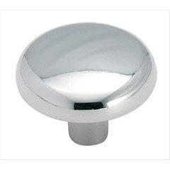 Allison Value Hardware 1-1/4 Inch Diameter Polished Chrome Cabinet Knob