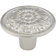 Traditional 1-3/16 Inch Diameter Knobs with Nickel Finish <small>(#BP7630195)</small>
