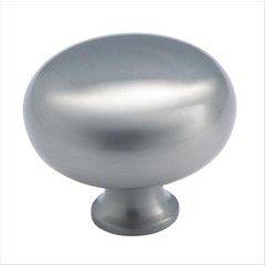 Classics 1-1/2 Inch Diameter Satin Nickel Cabinet Knob