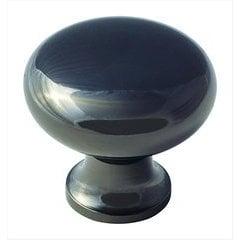 Anniversary 1-3/16 Inch Diameter Black Nickel Cabinet Knob