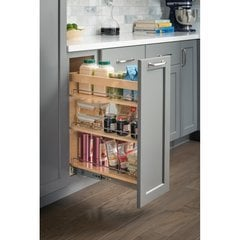 10 x 21 x 24 Inch Base Cabinet Pullout with Soft-close