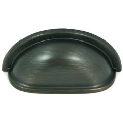 Princeton 3 Inch Center to Center Oil Rubbed Bronze Cabinet Cup Pull