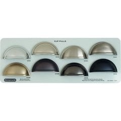 Showroom Display Board - Cup Pulls Collection - LIMIT 1 PER CUSTOMER