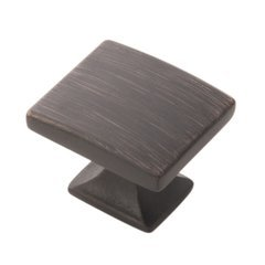 """Forge Collection Cabinet Knob 1-7/16"""" X 1-1/4"""" Vintage Bronze Finish"""