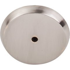 Aspen II Round Backplate 1 3/4 inch Diameter Brushed Satin Nickel