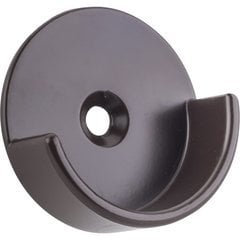 Open Closet Bracket for Round 1-5/16 Inch Closet Rod - Dark Bronze