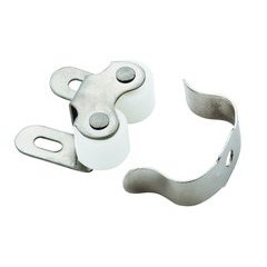 1 Inch Length Functional Hardware Roller Catch - Nickel