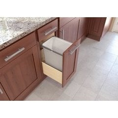Vaugh Sagel 600mm ENVI Space 56L Double Pull Out Recycling Kitchen Bin SOFTCLOSE
