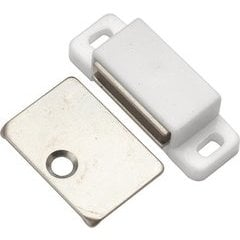 1-7/16 Inch Super Magnetic Catch - White