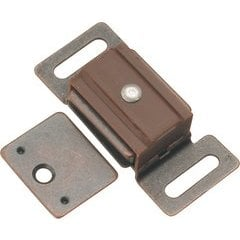 1-7/8 Inch Magnetic Catch - Statuary Bronze