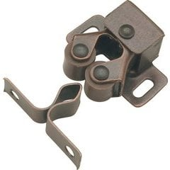 1 Inch Double Roller Catch - Statuary Bronze