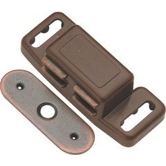 1-1/2 Inch Magnetic Catch - Statuary Bronze