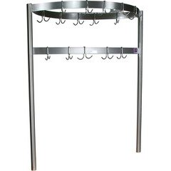 48 Inch x 48 Inch x 18 Inch Pot Rack - Stainless Steel