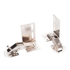 Hinges for Tipout Unit - Chrome
