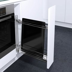 K150 Base Pullout with Baking Tray Holder Chrome