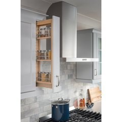 6 x 11-1/8 x 36 Inch Wall Cabinet Filler Pullout