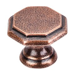 Britannia 1-1/4 Inch Diameter Old English Copper Cabinet Knob <small>(#M7)</small>