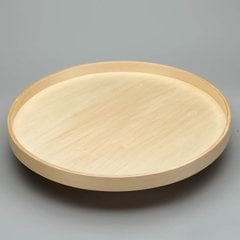 "Full Circle Single Shelf 28"" Diameter - Wood <small>(#LD-4BW-001-28SB-1)</small>"