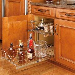 "Rev-A-Shelf 15"" Double Pull-Out Basket Chrome 5WB2-1522-CR"
