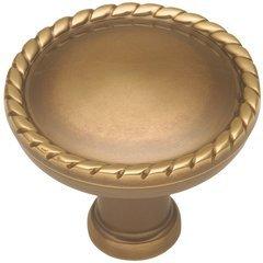 "Annapolis Knob 1-1/2"" Dia Sherwood Antique Brass"