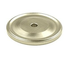 Yukon 1-1/2 Inch Diameter Matte Satin Nickel Back-plate