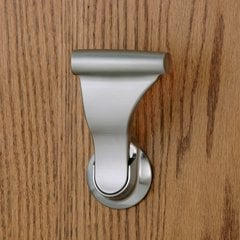 Closet UltraLatch for 1-3/8 inch Door Satin Nickel