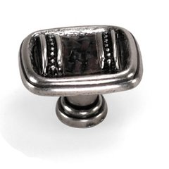 Sirocco 1-3/8 Inch Diameter Silverado Cabinet Knob