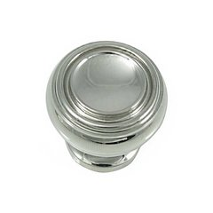 Balance 1-1/4 Inch Diameter Polished Nickel Cabinet Knob