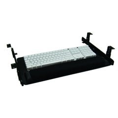 "Keyboard Slide Drawer System 23"" W-Black"