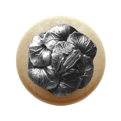 All Creatures 1-1/2 Inch Diameter Antique Pewter Cabinet Knob